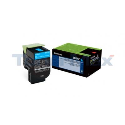 LEXMARK CX510 TONER CARTRIDGE CYAN RP 4K